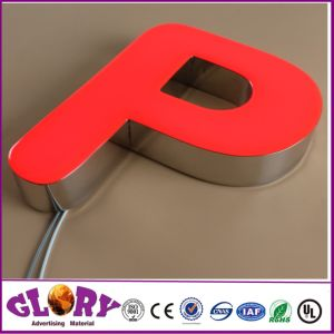 Frontlit LED Letter Signage and Acrylic Sign for outdoor Display pictures & photos