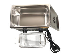 Ultrasonic Cleaner with Basket and Drain (TSX-120T) pictures & photos