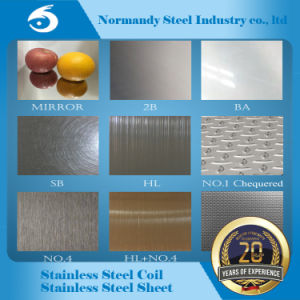 304 Color Pattern Stainless Steel Plate pictures & photos