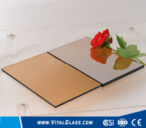 4mm, 5mm, 6mm, 8mm, 10mm Golden Brozne Colored/Stained/Tinted Float Glass pictures & photos