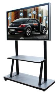 """China 2017 Hot Sale! 65""""/75""""/86"""" Inch Full HD Display LCD Multi Infrared Ray Interactive Touch Screen Monitor for Education"""