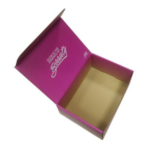 Cheap Custom Design Printed Folding Cosmetic Packaging Box pictures & photos