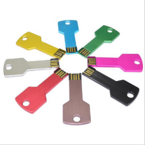 Promotional Christmas Gift Metal Key USB Flash Drive (ED001) pictures & photos