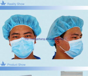 Hubei High Quality 3 Ply Disposable Non Woven Face Mask pictures & photos