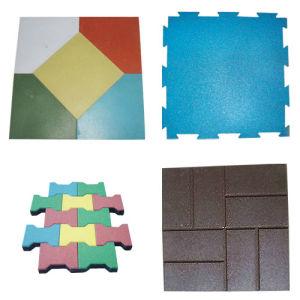 En1177 Certificate Safety Rubber Flooring (MR-16)