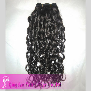 Curly Indian Remy Human Hair Weft (YM-KHW030)
