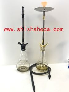 New Design Aluminium Shisha Glass Hookah pictures & photos