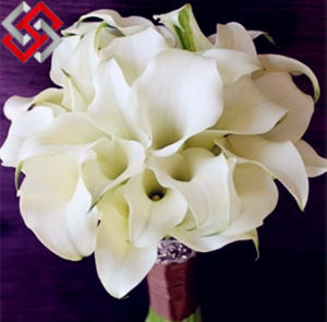 Flower Bouquet, Wedding and Home Decor PE Calla Lily Flower