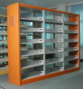 3 Uprights Library Storage Bookshelf (T8-MB3) pictures & photos