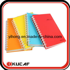 Spiral Plastic Cover Notebook for School pictures & photos