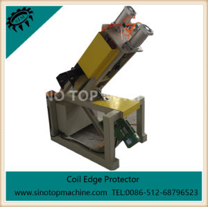 Edge Board Machine with Wrap Around Punching Rotary Machine pictures & photos
