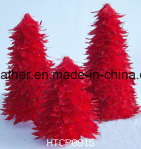 Hand-Made Feather Christmas Tree pictures & photos