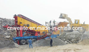 Zhengzhou Weilite--High Capacity Mobile Crusher Station (PP)