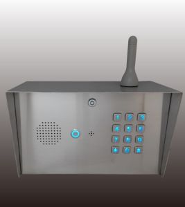 3G Keypad Pin Code Intercom Gate Door Access Controller Relay Switch Gooseneck Pole Mount Mobile Control