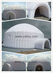 Inflatable Igloo Whole Dome Tent for Camping pictures & photos
