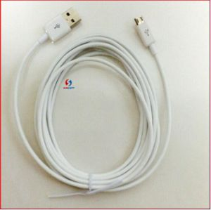 Original 3 Meter Micro USB Cable for Samsung S3/4/Note2/I9220 pictures & photos
