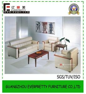 Guangzhou Factory Wholesale Leather Sofa Set for Office Furniture pictures & photos