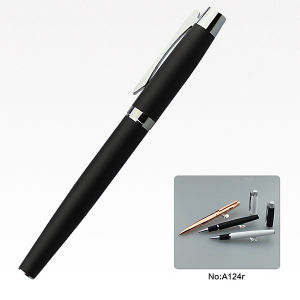 Custom Logo design Ink Pen Metal Writing Pen on Sell pictures & photos