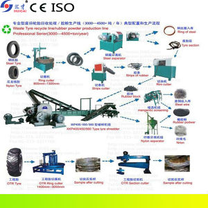 Rubber Powder Machinery/Tyre Reclaimed Rubber Machine pictures & photos