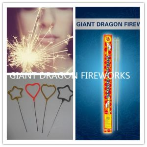 Star/Number/Christmas /Five-Pointed Star /Heart Shaped Sparklers Chinese Firecrackers and Fireworks pictures & photos