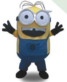 Stuart The Minion Mascot Costume