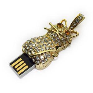 Cat Shape Jewelry USB Flash Drive, USB2.0