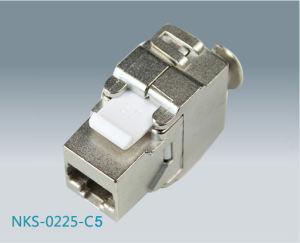 Cat5e FTP RJ45 Toolless Keystone Jack (NKS-0225-C5e)
