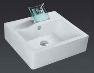 Unique Porcelain Bathroom Vessel Sink (6507) pictures & photos