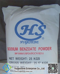 Food Additive Sodium Benzoate (NaC6H5CO2) (CAS: 532-32-1) pictures & photos
