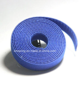 Eco-Friendly Self-Adhesive 100% Nylon Material Hook and Loop Tape pictures & photos
