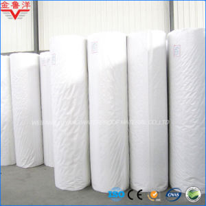 Polyethylene Polypropylene Compound Self-Adhesive Waterproofing Material, PP+PE+PP Self-Adhesive Waterproof Membrane pictures & photos