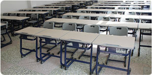 Classroom Desk and Chair/Metal and Wooden School Furniture pictures & photos