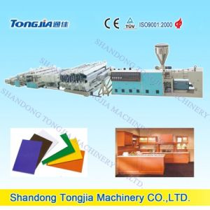 PVC Skinning Foaming Foamed Plate Machine (JG-MSC) pictures & photos