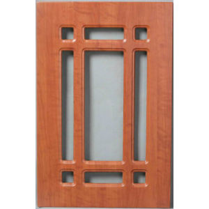 Ameican Style Kitchen Cabinet Door (HLpvc-9) pictures & photos