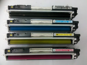 CE310/CE311/CE312 Color Toner Cartridge Compatible for HP Laserjet PRO CP1025NW