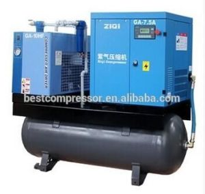 Compact Screw Air Compressor with High Efficiency pictures & photos