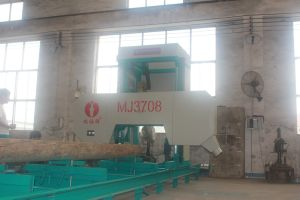 Portable Horizontal Band Saw Mill Machine with Diesel Engine/Mobile Band Sawmill pictures & photos