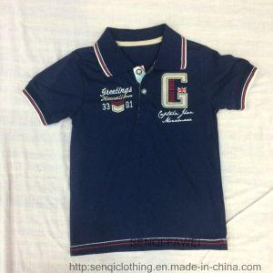 100% Cotton Boy Sport Polo Shirt Sq-6335 pictures & photos