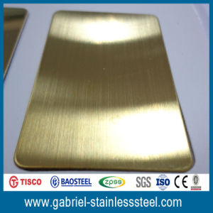 Color Coated Stainless Steel Sheet 304 201 pictures & photos