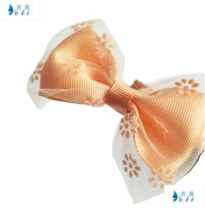 High Quality Grosgrain Ribbon with Lace Bowknot Headbands pictures & photos