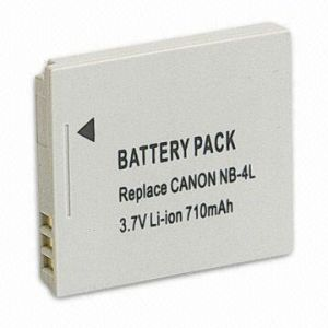 Digital Camera Li-ion Battery with 710mAh Capacity (NB-4L) pictures & photos
