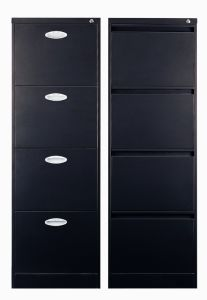 4 Drawer Fireproof Vertical File Cabinet pictures & photos