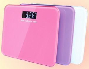 High Perision Big LCD Display Bathroom Scale pictures & photos