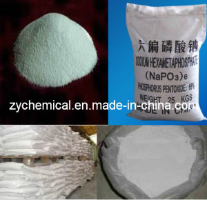 Napo3)6, Sodium Hexametaphosphate, Used as Water Softening Agent, Dispersing Agent and High-Temperature Binding Agent pictures & photos