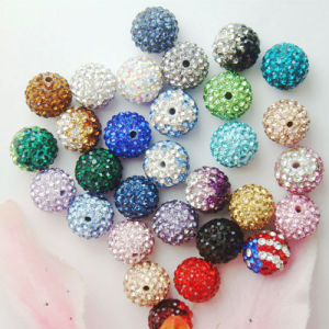 Fashion Jewelry Rhinestone Clay Beads (FC-06001A)