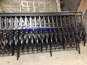 Wrought Iron Balcony Fence/Iron Balcony Railing /Balcony Grill Security Window pictures & photos