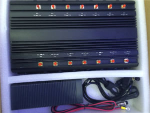 Cell Phone Jammer Block 3G, WiFi, 4glte, GSM, CDMA, Lojack Jammer for GSM800MHz+GSM900MHz+1800MHz+1900MHz+3G2100MHz+Gpsl1+Lojack, 14 Antennas Signal Blocker pictures & photos