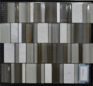 Fashion Lucid Glass Tiles Mosaic in 2016 (MBS007)