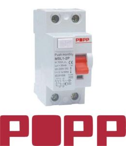 Residual Current Circuit Breaker (MSL1-63)