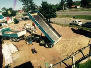 Cimc 10cbm Dumping Tipper Full Truck Trailer pictures & photos